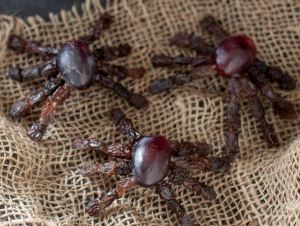 Grape and Raisin spiders