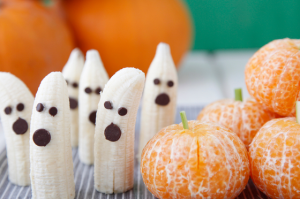 Banana Ghosts and Tangerine Pumpkins