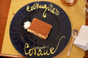 Tiramisu with a personal touch!