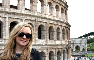 Me at the Colosseum